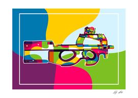 FN P90 Pop Art