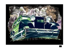 car-vintage-old-drawing
