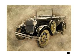 old-car-black-art-vintage-drawing