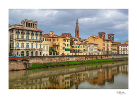 Cityscape Historic Center of Florence, Italy