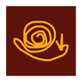 snail (yellow)