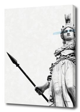 Athena the goddess of wisdom