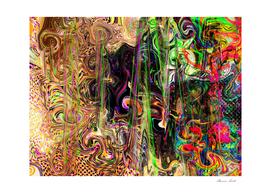 Emotional Range Abstract Digital Art Painting