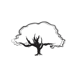 tree (black outline)