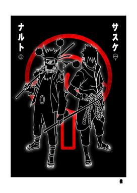 Naruto And  Sasuke Best Anime