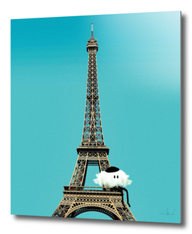Coy The Cloud: Chillin' On The Eiffel Tower