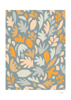 Fall in love - Leafy Pattern 3
