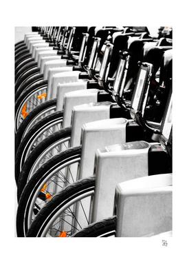 Bikes in black&white
