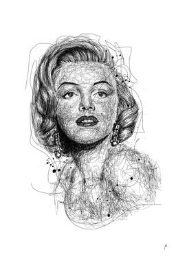 Monroe scribbles