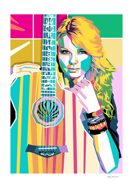 TAILOR SWIFT Pop Art