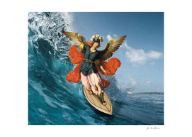 The Winged Surfer
