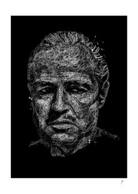 Don Corleone scribbles