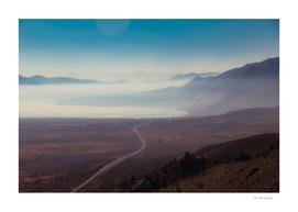 road trip scenic to Yosemite national park California USA