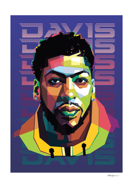 Basketball Player in Pop Art Style 2