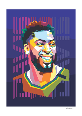 Basketball Player in Pop Art Style 3