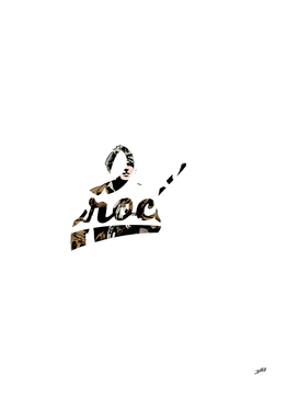 Davy Crockett Typography Illustration 1786 - 1836