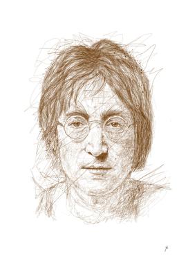 john lennon scribbles