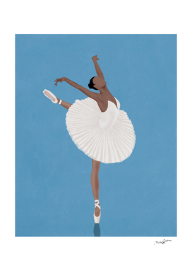 Pretty Ballerina Woman I