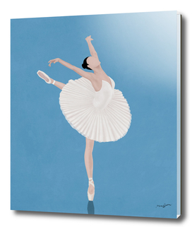 Pretty Ballerina Woman II
