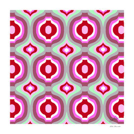FESTIVE ABSTRACT - PINK