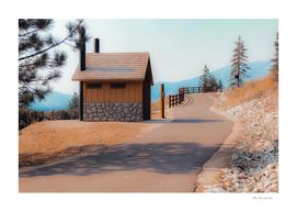 walkway with beautiful scenic at Lake Tahoe Nevada USA