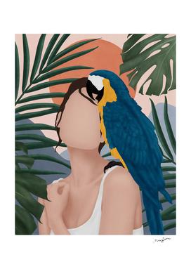 Pretty Pantanal Woman
