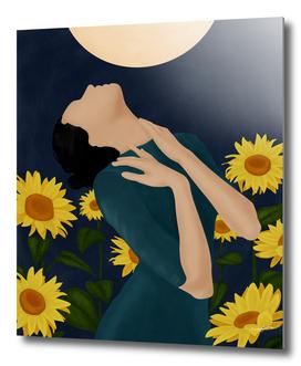 Pretty Sunflower Woman II