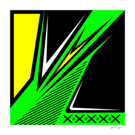 black and green vector background abstract design