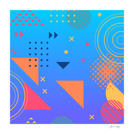 simple vector abstract background design