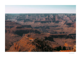 Desert layer at Grand Canyon national park USA
