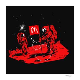 First we take Manhattan, Then we take Mars