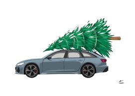 Christmas tree_car