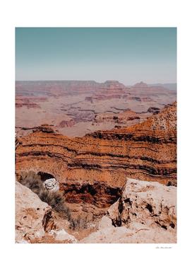 Desert view at Grand Canyon national park Arizona USA