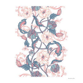 Blue Rose Ribbon
