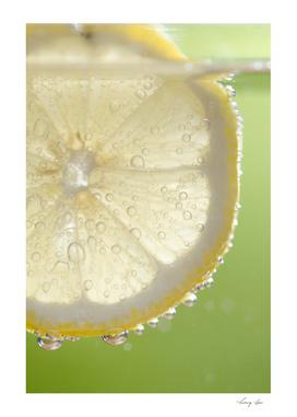 Bubbly Lemon - Lime Green