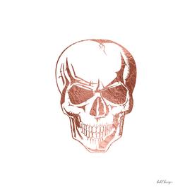 Skull Rose Gold