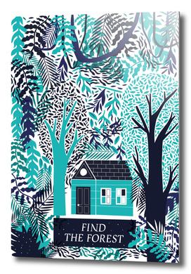 Encuentra el bosque