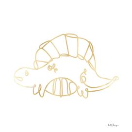 dinosaur gold folio