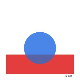 Minimal Abstract modern circle