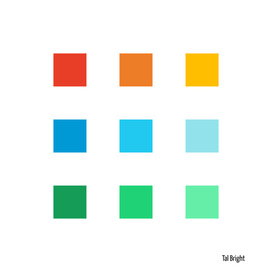 Modern Minimal Abstract Color Squares