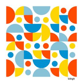 Funky retro pattern