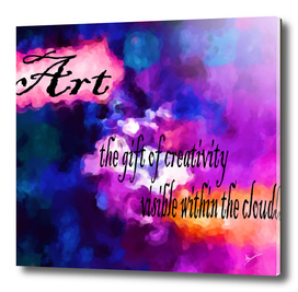 art in the clouds