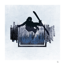 Grunge Ski