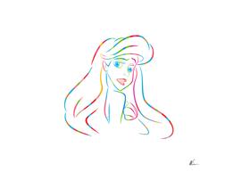 Ariel   The Little Mermaid   Pop Art