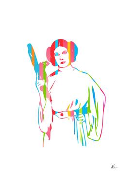 Princess Leia   Star Wars   Pop Art