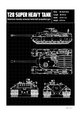 t28 heavy tank