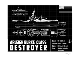 arleigh burke destroyer ship