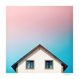 Facade #2 [Colors above the Roofs]