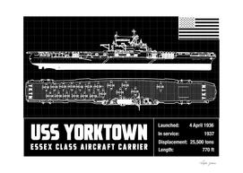USS YORKTOWN SCHEMATIC