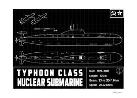 TYPHON CLASS SUBMARINE